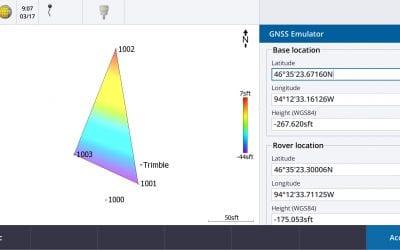 Tech Talk: Trimble Access GNSS Emulator