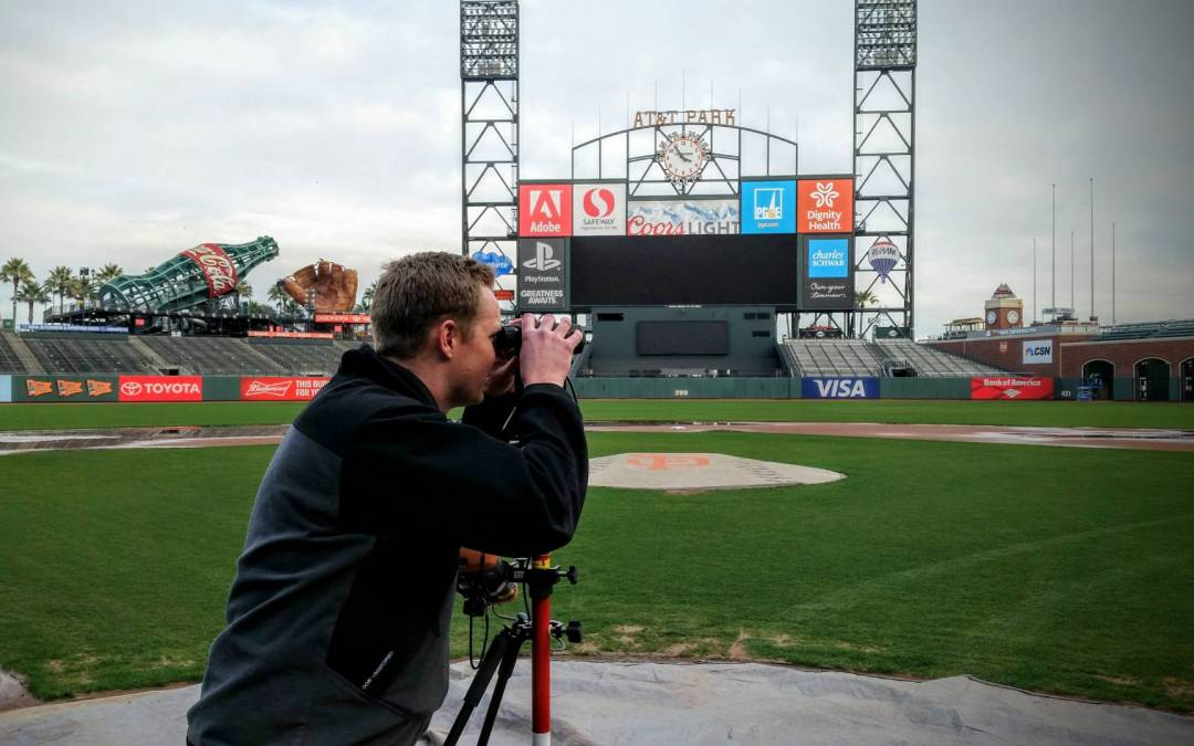 Work or Play? Mapping Baseball Fields with Laser Technology