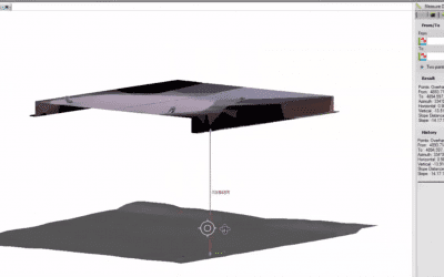 Measuring Clearances Using Scan Data in Trimble Business Center