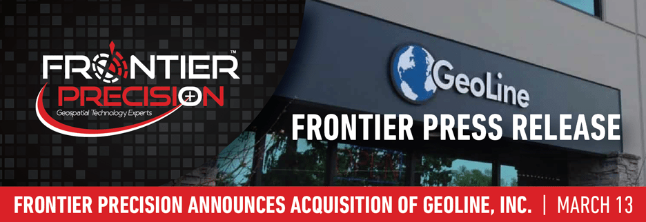 Frontier Precision announces acquisition of geospatial assets and business of Geoline, Inc. in Seattle, Washington