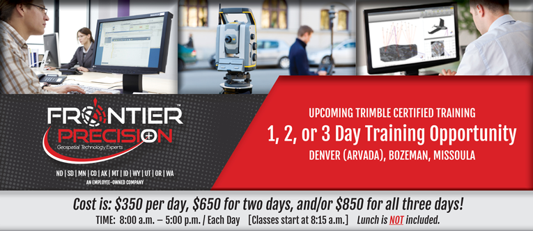 Trimble Training with Frontier Precision