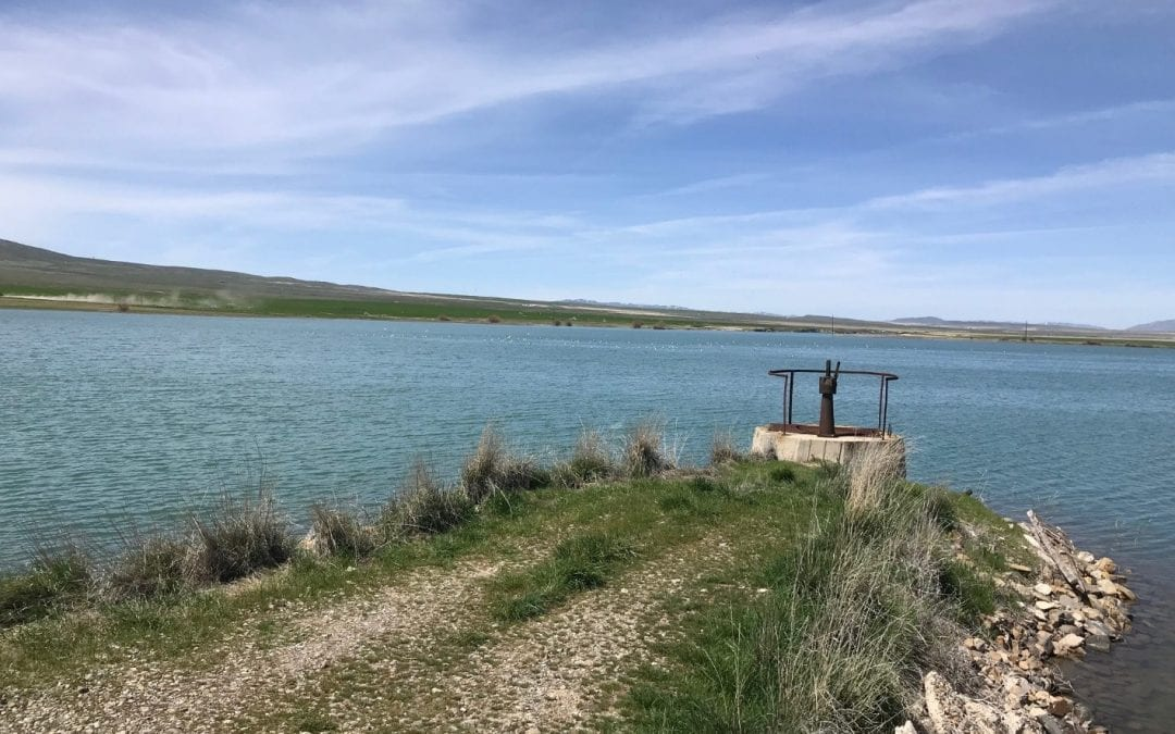 Irrigation District Measures Reservoir Seepage Losses