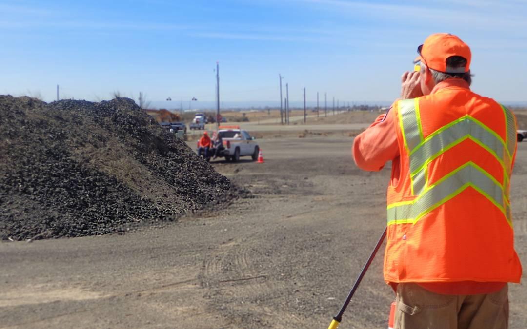 How the Idaho Transportation Department Measures Stockpile Volumes