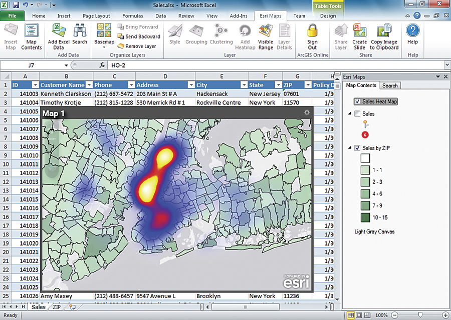 Do you use Esri Maps for Office yet?