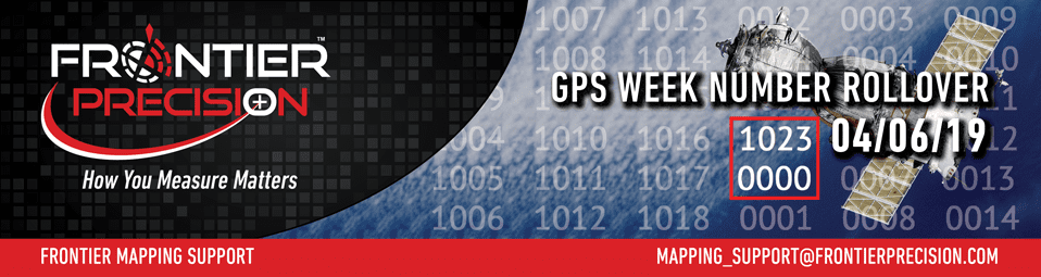 Mapping & GIS GPS Week Number Rollover