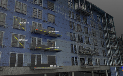 Using Laser Scanners for As-Built Construction Monitoring