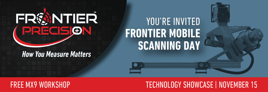 Frontier MX9 Mobile Scanning Day – Portland, OR