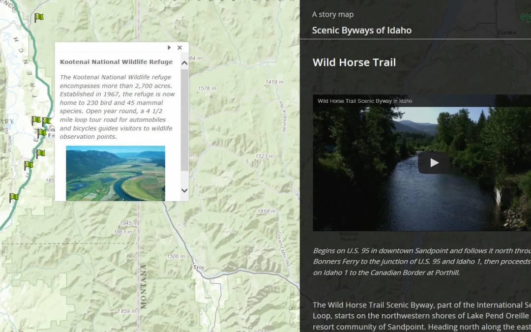 Beautiful Idaho Story Map