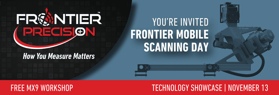 Frontier MX9 Mobile Scanning Day – Seattle, WA