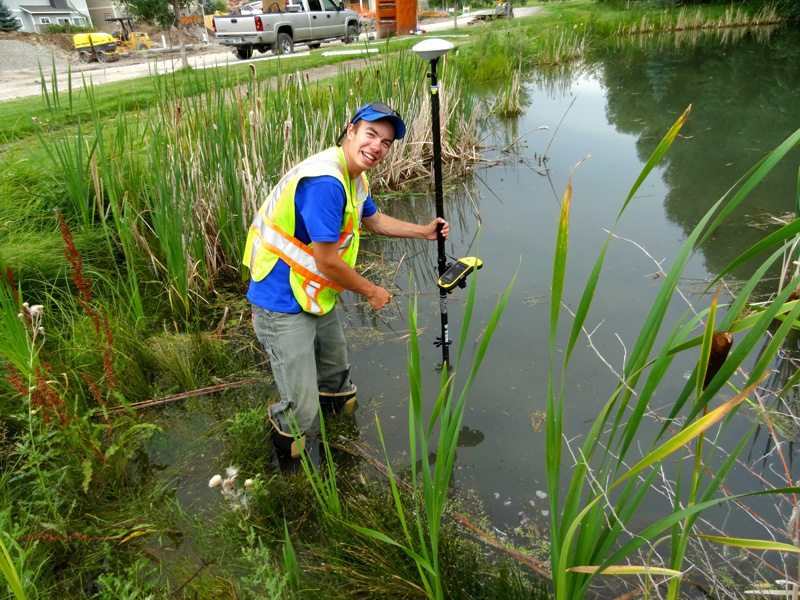 City of Bozeman takes Stormwater Mapping to the Streets