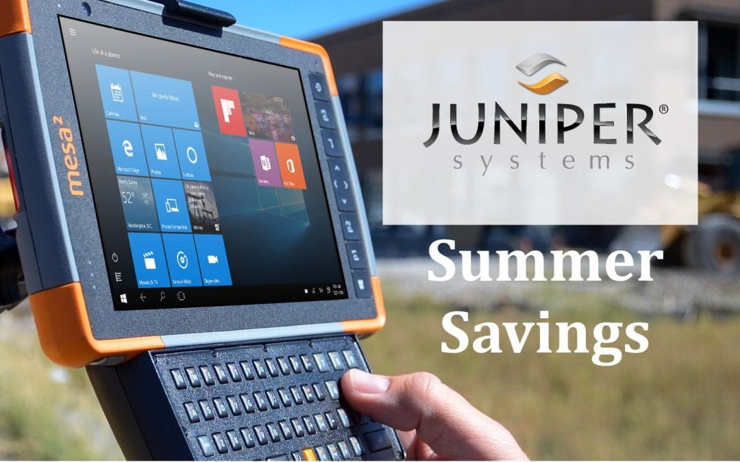 Summer Savings – Juniper Systems Mesa 2 & Accessories