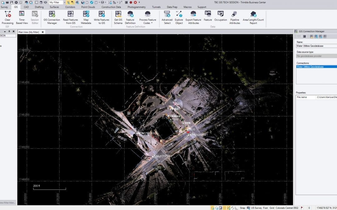 Tech Talk: Trimble Business Center Web Map Background