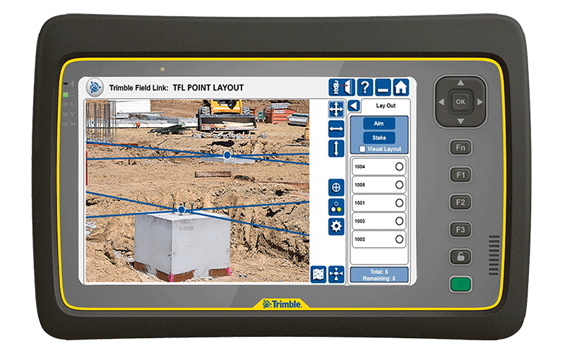 Trimble tablet frontier precision for Table th link