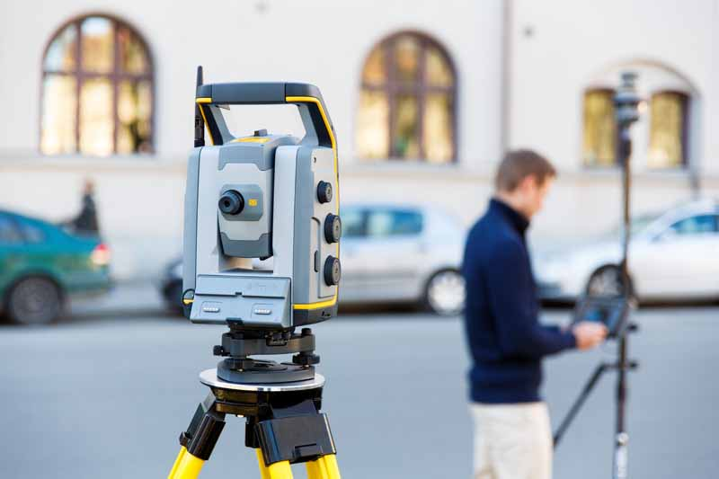 Using your robotic total station as a level.