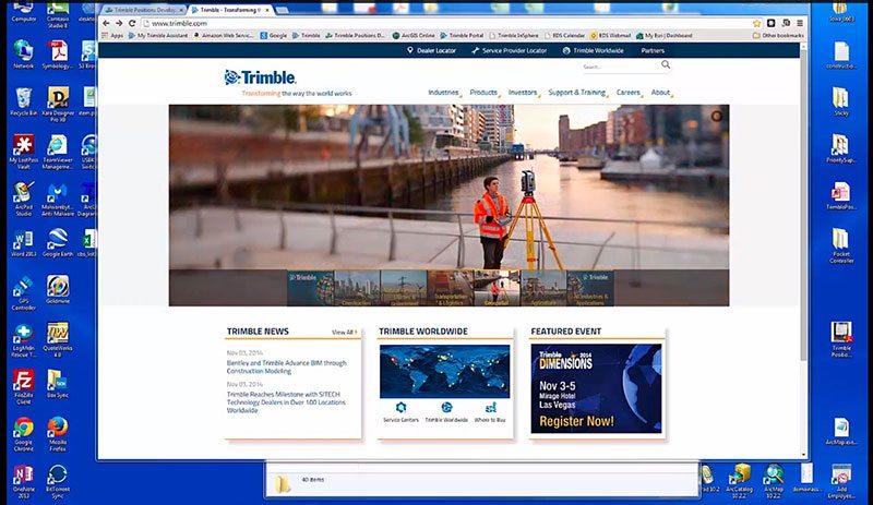 Enabling the Trimble Positions Desktop Add-In