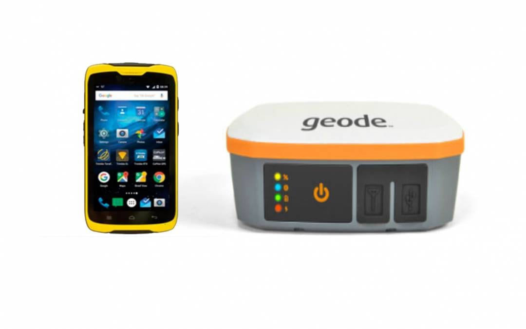 How to Connect the Juniper Systems Geode to the Trimble TDC100 Running Esri Collector